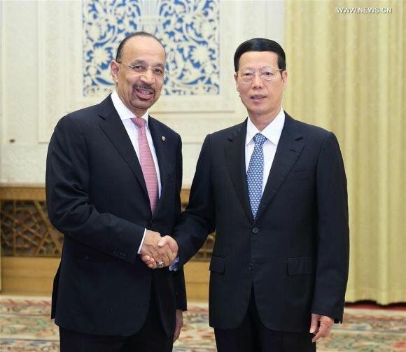 الصين والسعودية تتفقان على تعزيز العلاقات الاقتصادية