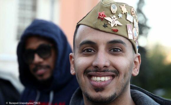 #كأس_العالم : مصورون روس يوثقون التواجد السعودي في #روسيا2018