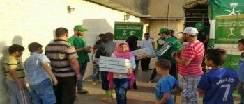 مركز الملك سلمان للإغاثة يواصل توزيع وجبات إفطار الصائم على اللاجئين السوريين في لبنان