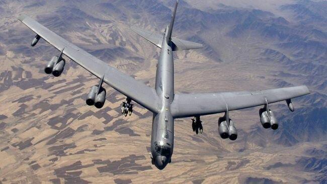ست قاذفات أمريكية من طراز B-52 تتوزع بالقرب من إيران