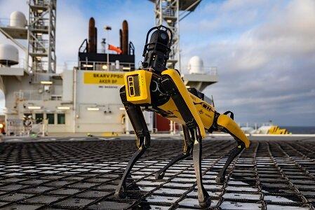 إيكر بي بيه وكوجنايت تقودان نشر الروبوتات في عرض البحر لتحويل قطاع النفط والغاز من خلال المهمّات الذاتيّة