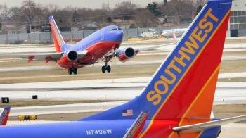شركة طيران ساوث ويست الأمريكية أستخدمت عدد كبير من الطائرة دون التأكد من سلامتها