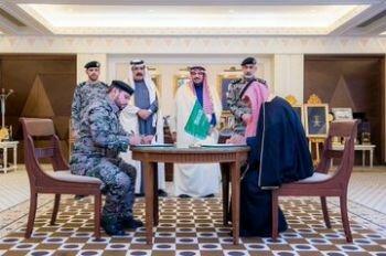الأمير الدكتور فيصل بن مشعل يشهد توقيع اتفاقية شراكة بين سجون المنطقة و نادي #الرائد.