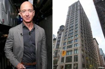 جيف بيزوس ينفق 16 مليون دولار لشراء شقة مكونة من 3 غرف