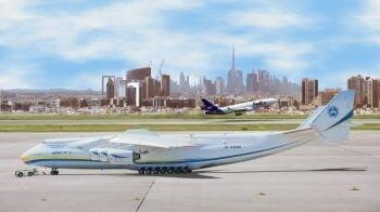 العملاقة أنتونوف AN-225 تواصل مسيرتها الإنسانية