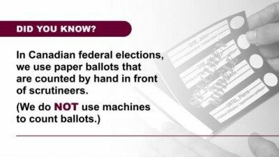 """كندا تتبرأ من نظام التصويت """"  Dominion """" المستخدم في الانتخابات الأمريكية و تقول أنها تفرز الأصوات يدوياً"""