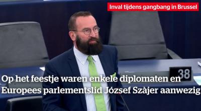 القبض على عضو في البرلمان الأوروبي أثناء مداهمة لحفلة جنسية في بروكسل
