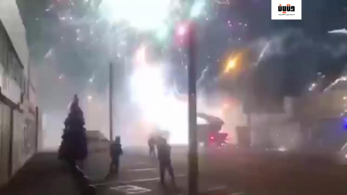 سكان مدينة روستوف الروسية يستيقظون على أصوات انفجارات الألعاب النارية