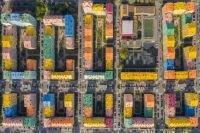 """شاهد بالصور  مجمع """" كمفورت تاون """"  السكني أحد معالم كييف الحديثة"""