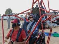بحضور ممثل الجالية الماليزية ... دايموند التطوعية تقوم بزيارة لمركز سماء القصيم للطيران