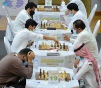 بطولة القصيم للشطرنج تواصل جولاتها