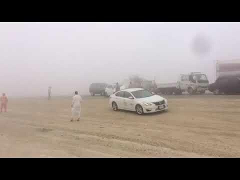 حوادث تتابعيه تقع على #طريق_ابو_حديره