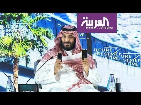 محمد بن سلمان : الحياة في #نيوم كالفرق بين هاتفين